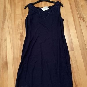 H.O.G. Brand New Dress - Navy Blue with Tags